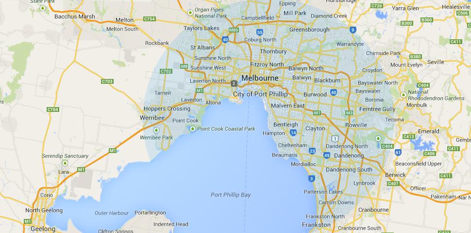 Appliance Service Area Melbourne